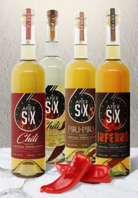 CHEERS! FOUR TYPES OF SPICY PEPPER VODKA REACH OUR DISTILLERY STORE SHELVES